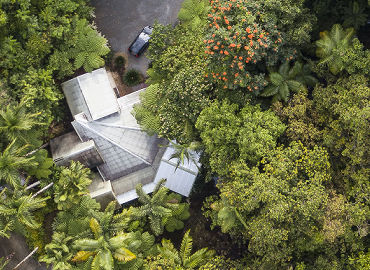 Aerial View of Daintree Secrets