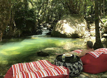 Lunch By The Swimming Hole
