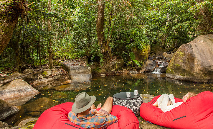 Daintree Secrets Private Swimming Hole and Waterfalls