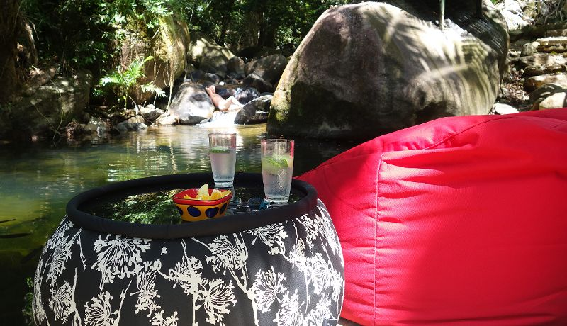 Daintree Secrets Rainforest Sanctuary - Relax by Swimming Hole