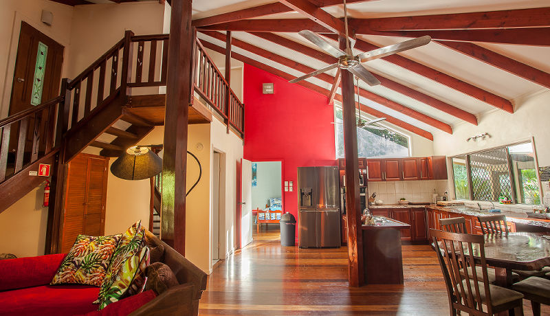 Daintree Secrets Rainforest Sanctuary - Open Plan Living